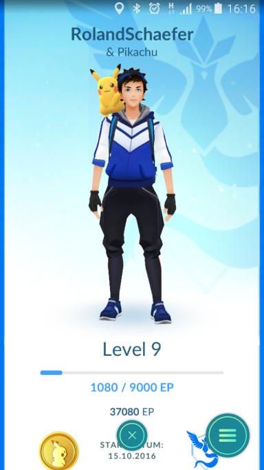 Pokemon Go Strategie schneller Levelaufstieg
