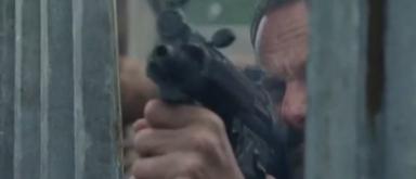 Rick schießt auf Negan