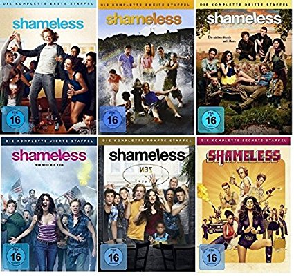 Shameless Staffel 1-6 DVD Set