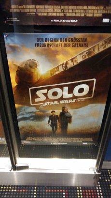 Star Wars Solo Filmplakat