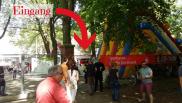 Sparkassen Renntag Eingang Rennbahn