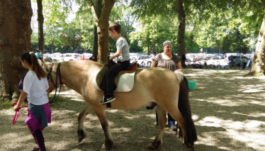 Sparkassen Renntag Ponyreiten