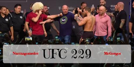 UFC 229 Nurmagomedov vs McGregor