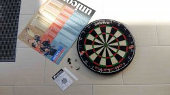 Unicorn Eclipse Pro Dartboard Lieferumfang