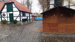 Weihnachtliches Barendorf Eingang Nadelmuseum