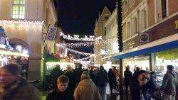 Weihnachtsmarkt Unna vom Markt aus