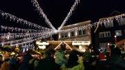 Weihnachtsmarkt Unna Markt Beleuchtung
