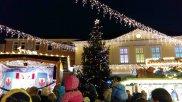 Weihnachtsmarkt Unna großer Weihnachtsbaum