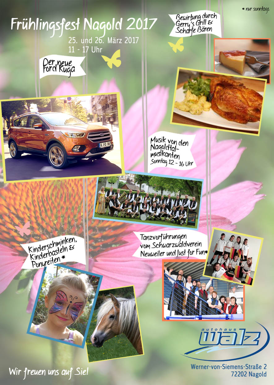 Frühlingsfest 2017 - Erleben Sie den neuen Ford Kuga