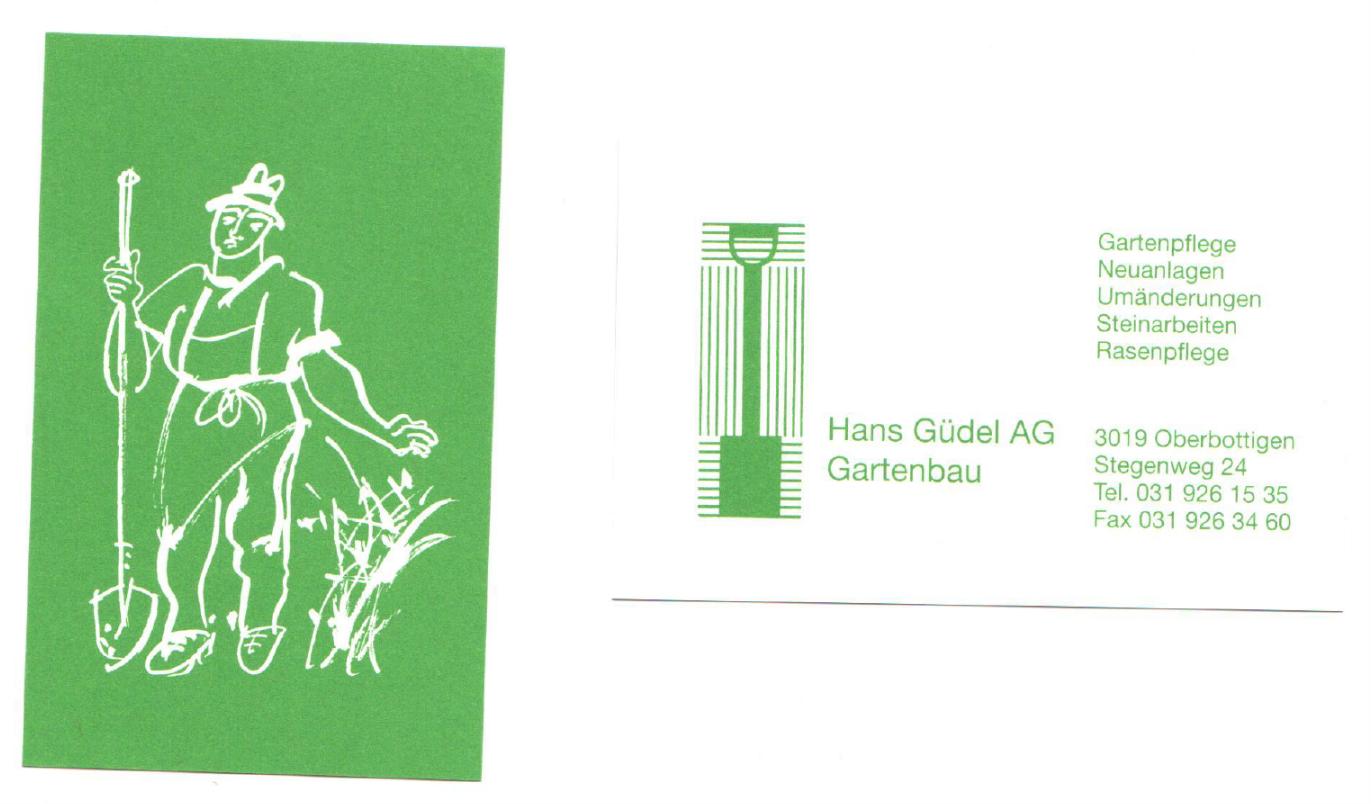 Hans Güdel AG, Oberbottigen