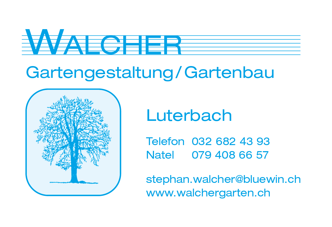 Walcher Gartengestaltung, Luterbach