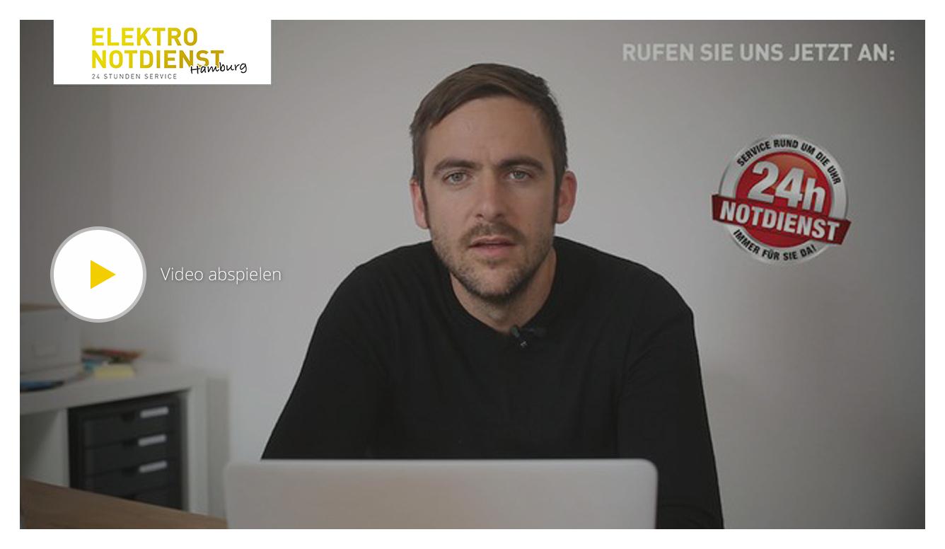 Hamburger Elektro Notdienst Video