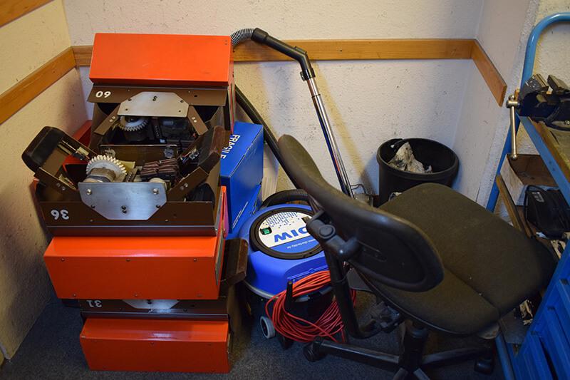 Fachgerechte Entsorgung von alten Maschinen