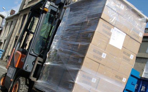 Folienverpackungen und Stretchfolien für den Transportschutz