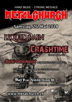 Metalchurch in Mai 26th 2018