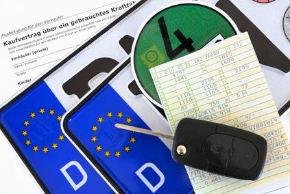 Der Antrag auf Fahrerlaubnis