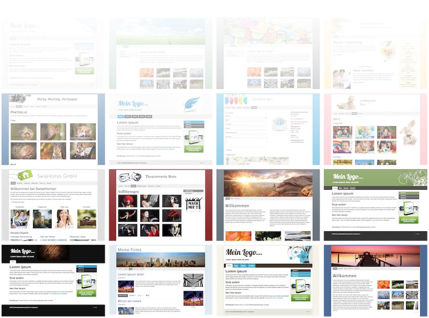 Diese Webseiten haben Kunden kostengünstig erstellen lassen.