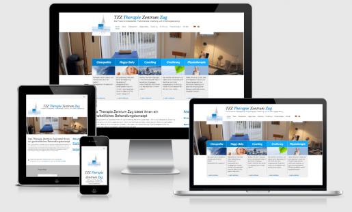 Webdesign für Osteopathie Zug
