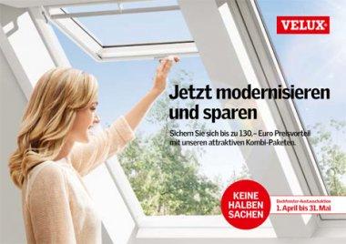velux austauschaktion 2015velux dachfenster austauschaktion 2015 holzbau schmid. Black Bedroom Furniture Sets. Home Design Ideas