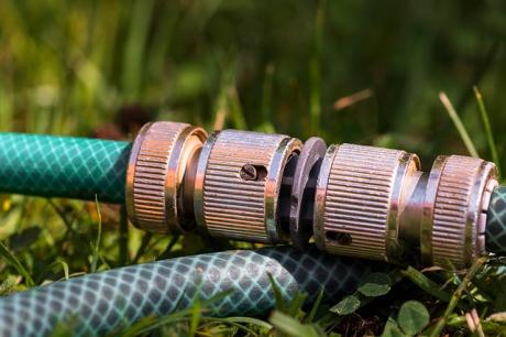Gartenbewässerung mit Hunter Regnern