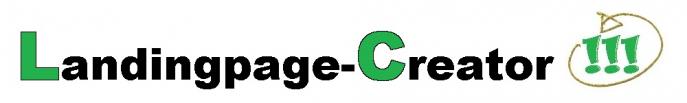 Landingpage Creator Logo Produktbild
