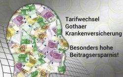 PKV-Tarifwechsel Gothaer - Besonders hohe Ersparnis beim Gothaer-Tarifwechsel
