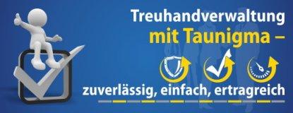 Treuhandverwaltung mit TauNigma - Zuverlässig, einfach und ertragreich.