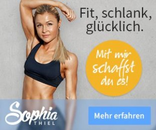 Abnehmen mit Sophia Thiel