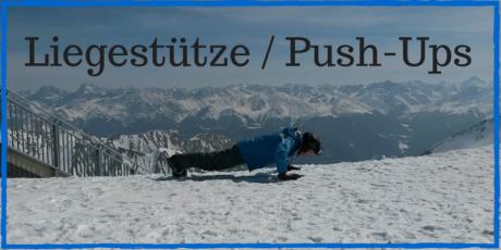 Liegestütze Push-Ups Übungen zum Abnehmen