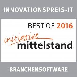 BSS erhält den INNOVATIONSPREIS-IT für Firmen mit innovativen IT-Lösungen und hohem Nutzwert.