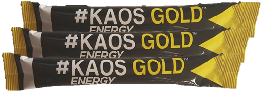Kaos Gold a healthy alternative energy drink with no crash