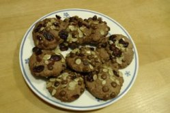 Schoko-Hafer-Kekse Rezept Anleitung