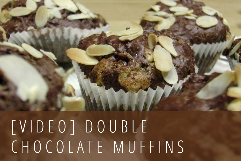 Rezept Double Chocolate Muffins