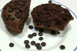 Schnelle Schokoladenmuffins