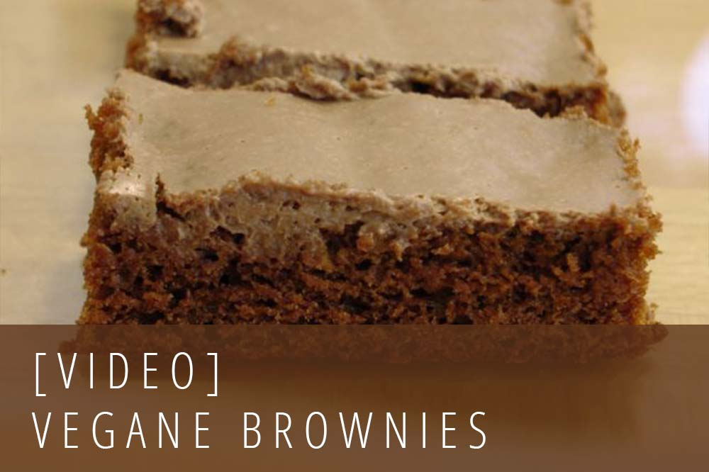 Vegane Brownies Video-Rezept