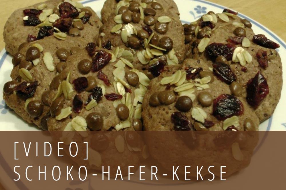 Schokoladen Hafer Kekse - Schoko-Hafer-Taler-Rezept