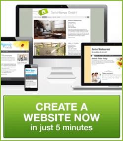 Créer maintenant un site avec inCMS