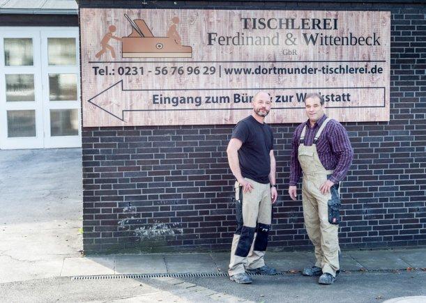 Geschäftsführung der Dortmunder Tischlerei