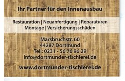 Dortmunder Tischlerei Kontaktdaten