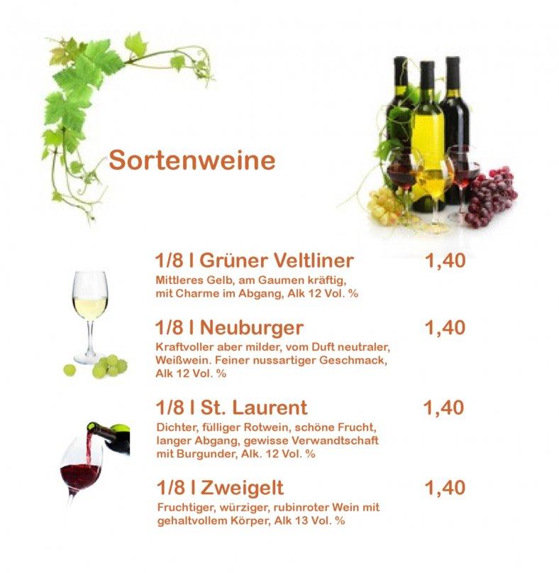 Sortenweine