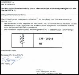 Klotzbretter - Lerchholz AG Grünenmatt