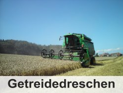 Bolzli Transporte AG Oberburg - Mähdreschen Burgdorf