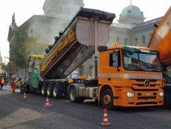 Bolzli Transport AG - Kippauflieger Burgdorf