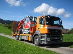 Bolzli Transport AG - Tieflader - Burgdorf
