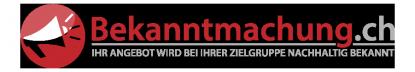 Bekanntmachung.ch