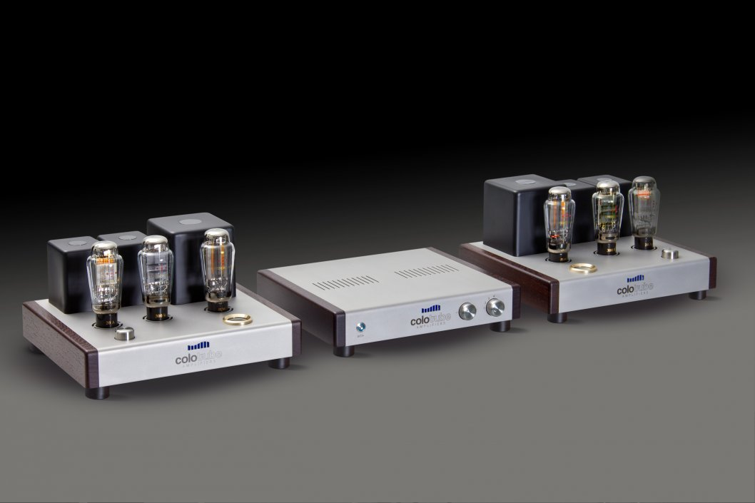 Colotube Preamp with Monoblocks