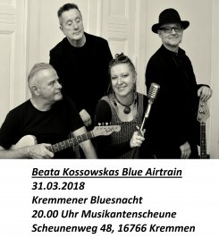 Beata Kossowskas Blue Airtrain