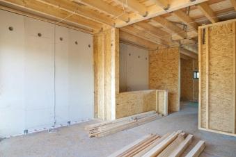 Trockenbau - Bauphase 1 beim Innenausbau in Stuttgart