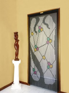 M-9083 Gaudi stained glass window