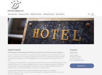 Hotel Template Brachenvorlage